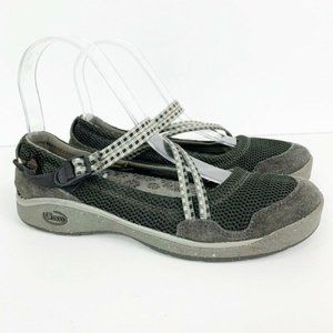 Chaco Slip On Closed Toe Strappy Sandals